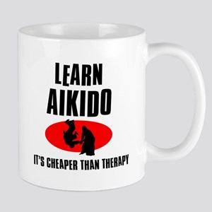 Aikido silhouette designs Mug