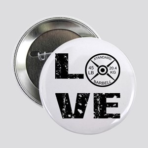 "Love Lifting Weights 2.25"" Button"