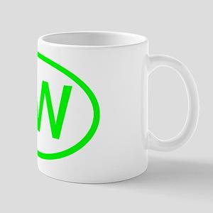 PR Oval - Puerto Rico Mug