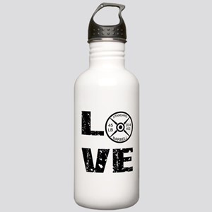 Love Lifting Weights Stainless Water Bottle 1.0L