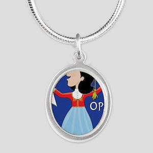 Greek Lady Dancing Necklaces