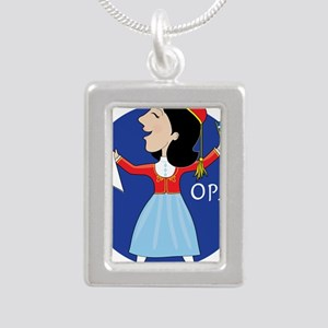 Greek Lady Dancing Necklaces