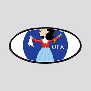 Greek Lady Dancing Patches