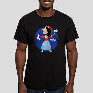 Greek Lady Dancing T-Shirt