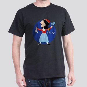 Greek Lady Dancing T-Shirt
