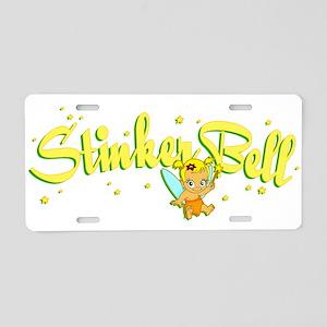 Stinkerbell Aluminum License Plate