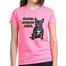 French Bulldog Mom Women's Dark T-Shirt