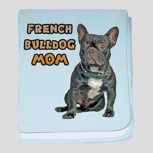 French Bulldog Mom baby blanket