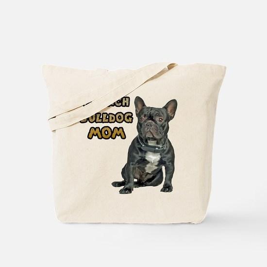 French Bulldog Mom Tote Bag