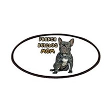 French Bulldog Mom Patches