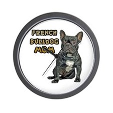 French Bulldog Mom Wall Clock