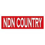 NDN Country Bumper Sticker