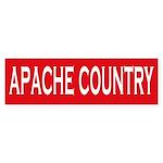 Apache Country Bumper Sticker
