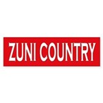 Zuni Country Bumper Sticker