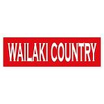 Wailaki Country Bumper Sticker