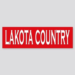 Lakota Country Bumper Sticker