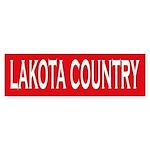 Lakota Country Bumper Sticker