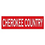 Cherokee Country Bumper Sticker