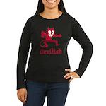 Devilish Women's Long Sleeve Dark T-Shirt