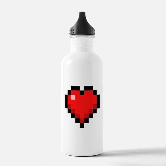 I <3 8BiT Water Bottle