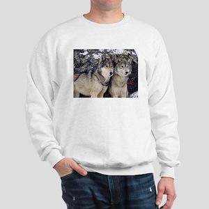 Wolf Couple Sweatshirt
