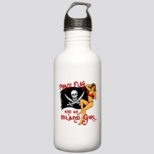 pirate girl Water Bottle