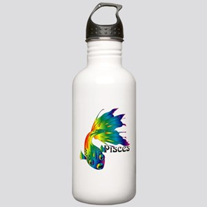 Whimsical Pisces Stainless Water Bottle 1.0L