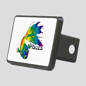 Whimsical Pisces Rectangular Hitch Cover