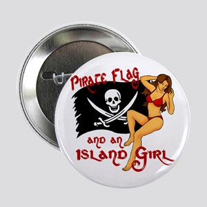 "pirate girl 2.25"" Button"