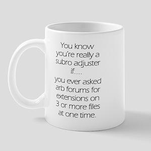 Multiple arb extensions  Mug