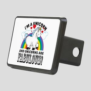 Unicorns Are Fabulous Hitch Cover