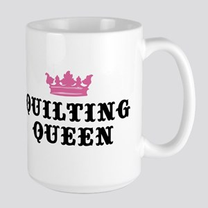 Quilting Queen Large Mug