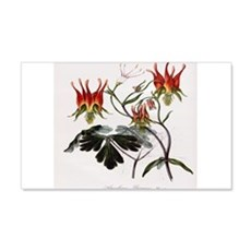 Aquilegia Skinneria Wall Decal