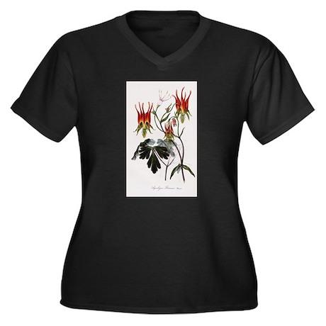 Aquilegia Skinneria Plus Size T-Shirt