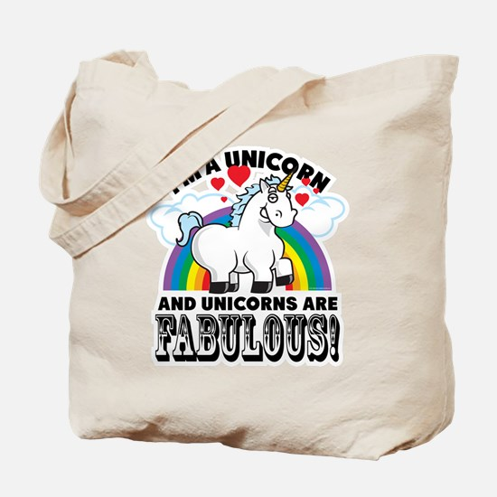 Unicorns Are Fabulous Tote Bag