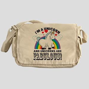 Unicorns Are Fabulous Messenger Bag