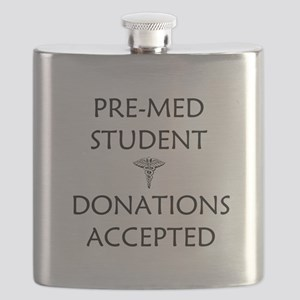 Pre-Med Student - Donations Accepted Flask