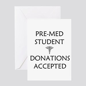 Pre med greeting cards cafepress pre med student donations accepted greeting card m4hsunfo