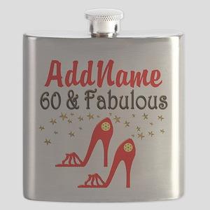 60 & FABULOUS Flask