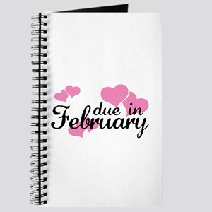 Due In February Hearts Journal