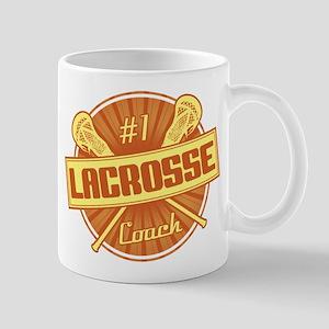 #1 Lacrosse Coach Mug