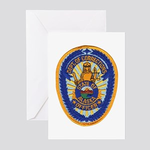 Alaska Corrections Greeting Cards (Pk of 10)