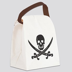 Calico Jack Pirate Canvas Lunch Bag