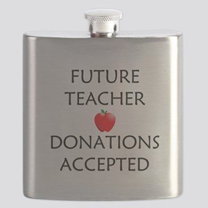 Future Teacher - Donations Accepted Flask