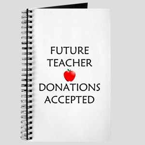 Future Teacher - Donations Accepted Journal