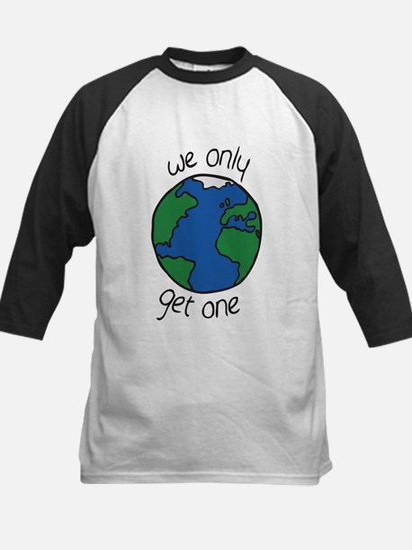 one earth Baseball Jersey