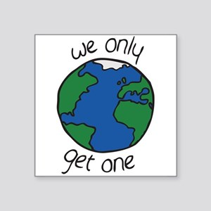 one earth Sticker
