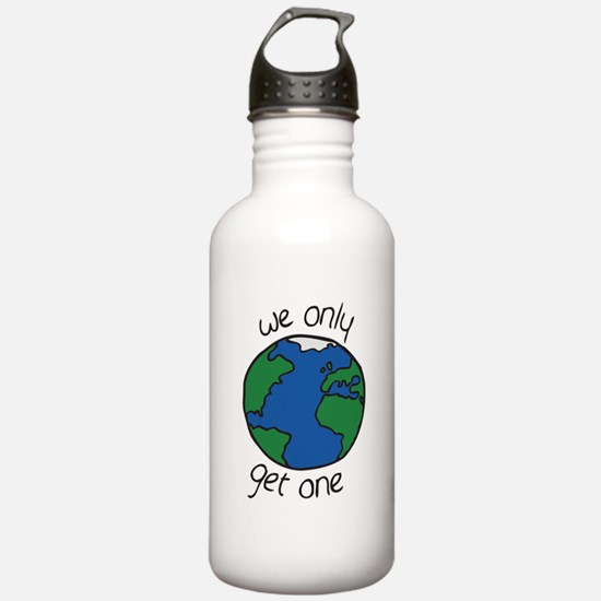 one earth Water Bottle