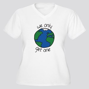 one earth Plus Size T-Shirt