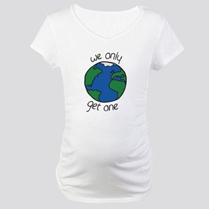 one earth Maternity T-Shirt